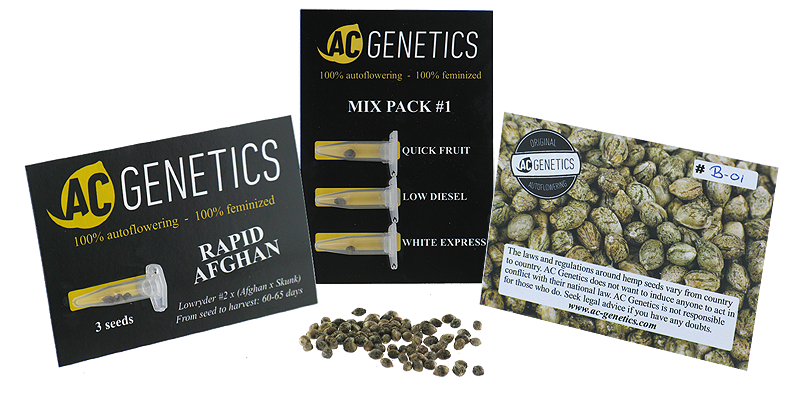 Packaging AC Genetics